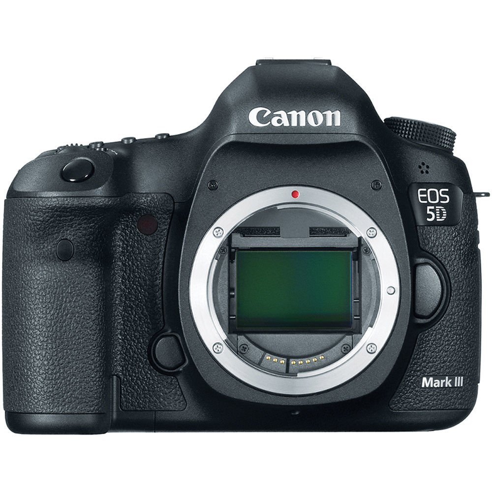 Canon EOS 5260B002 5D Mark III 22.3 Megapixels Digital SLR Camera - 3.2-inch LCD Display - Body Only - Black