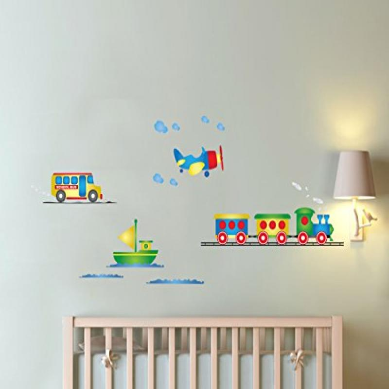 Retro Toys Train Decal Toy Airplane Decal with Boat by Wall Decal Source
