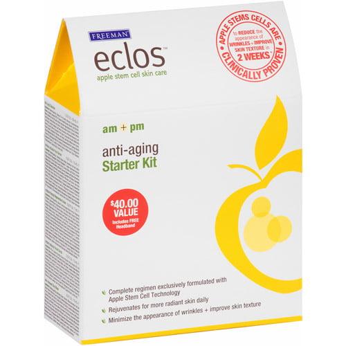Freeman Eclos AM + PM Anti-Aging Starter Kit, 7 pc
