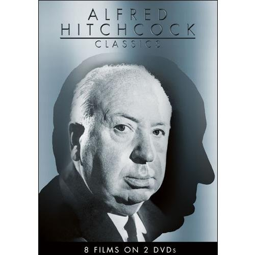 Alfred Hitchcock Classics (8 Films on 2 DVDs) ( (DVD)) by ECHO BRIDGE ENTERTAINMENT