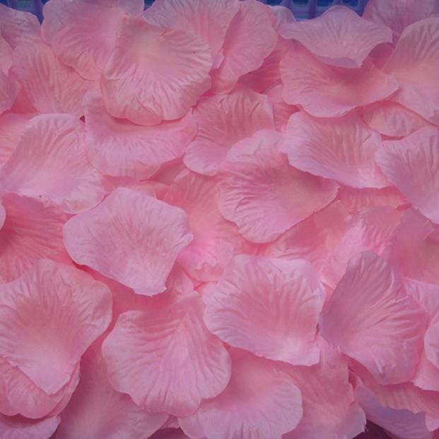 3000PC Silk Artificial Flower Rose Petals Wedding Party Decorations PK