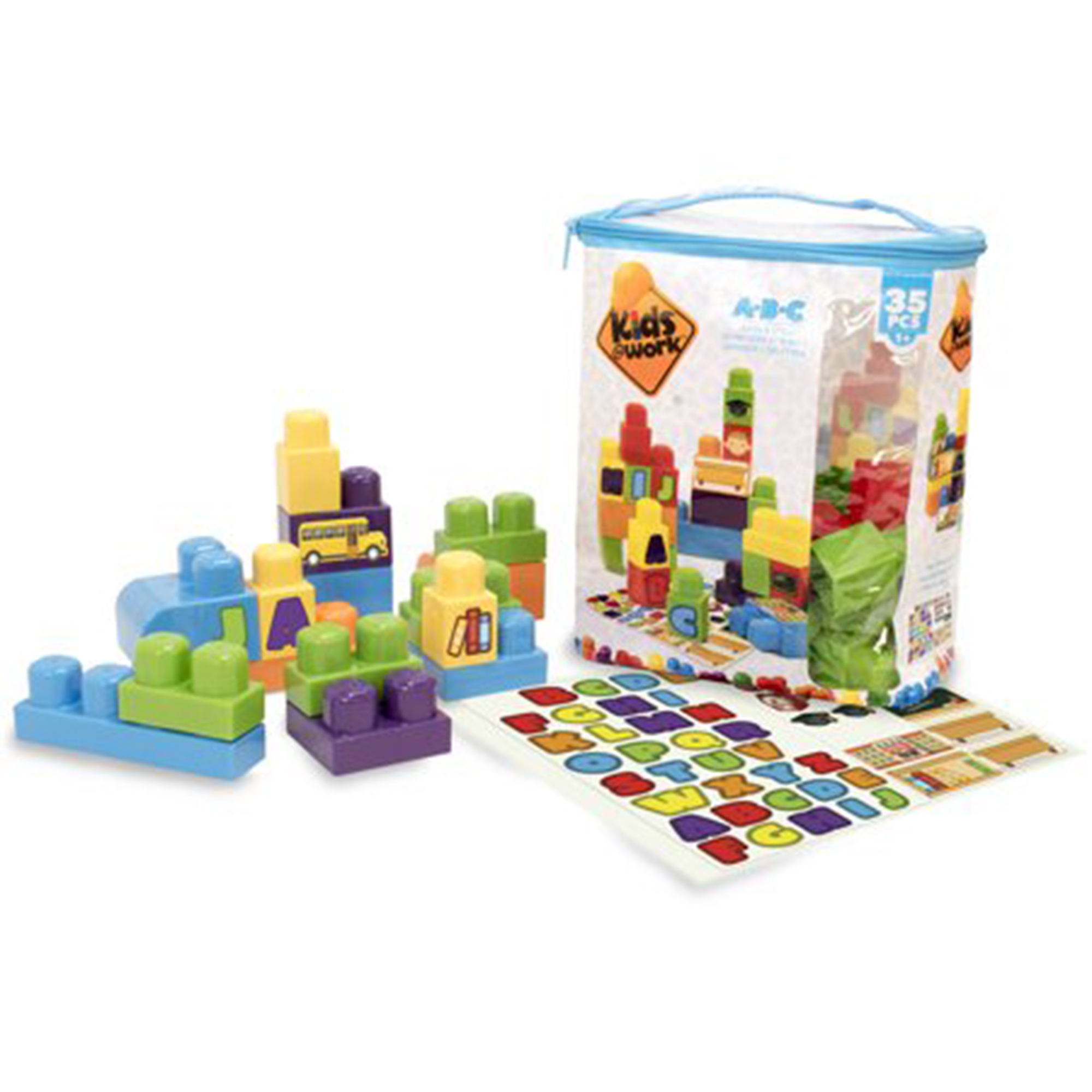 Amloid Corporation - Kids@Work 35 Piece 123 Tote