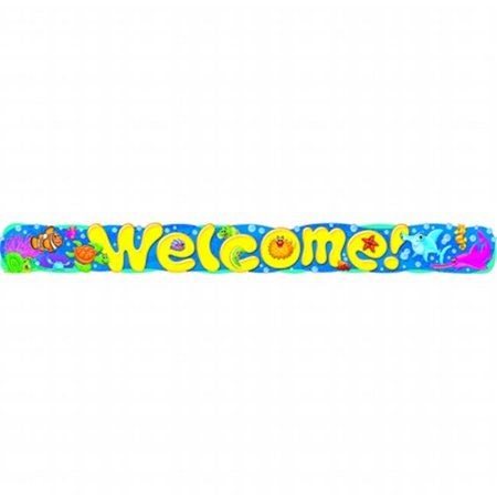 Welcome Sea Buddies Quotable Expressions Banner 10 Ft