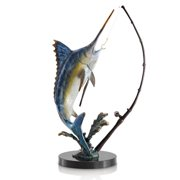 SPI Home Fighting Marlin with Tackle Figurine