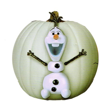 Frozen Olaf Halloween Pumpkin Decorating Kit (7pc) - Halloween Pumpkin Stencils Frozen