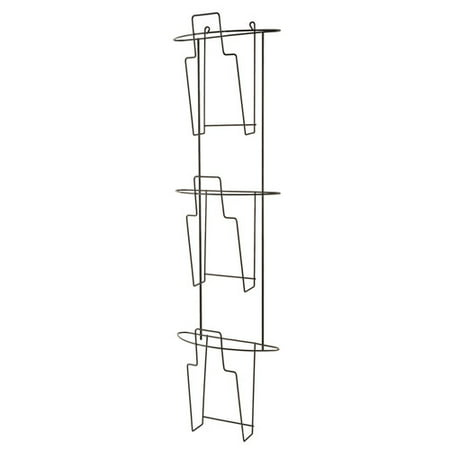 Pamphlet Wall (Buddy Products Wire Ware Wall Mounted Brochure and Pamphlet Rack)