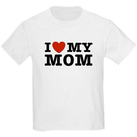ca66b391 Hello Kitty - Kids I Heart My Mom Mother's Day T-Shirt - Walmart.com