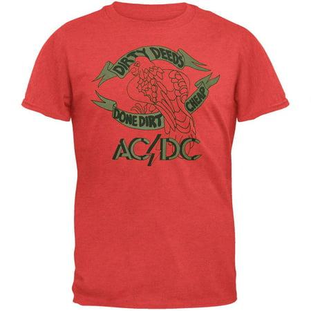 Ac Dc   Dirty Deeds Tattoo Soft T Shirt