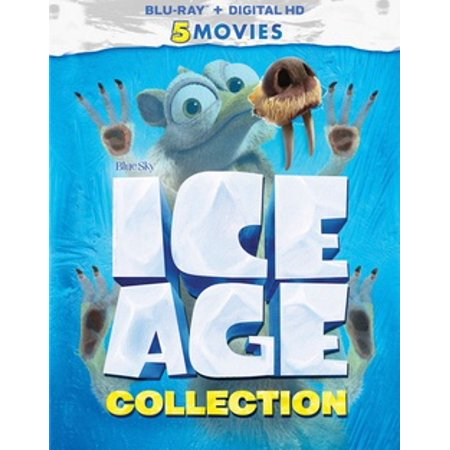 Ice Age: 5 Movie Collection (Blu-ray + Digital HD) Black White Photography Digital Age