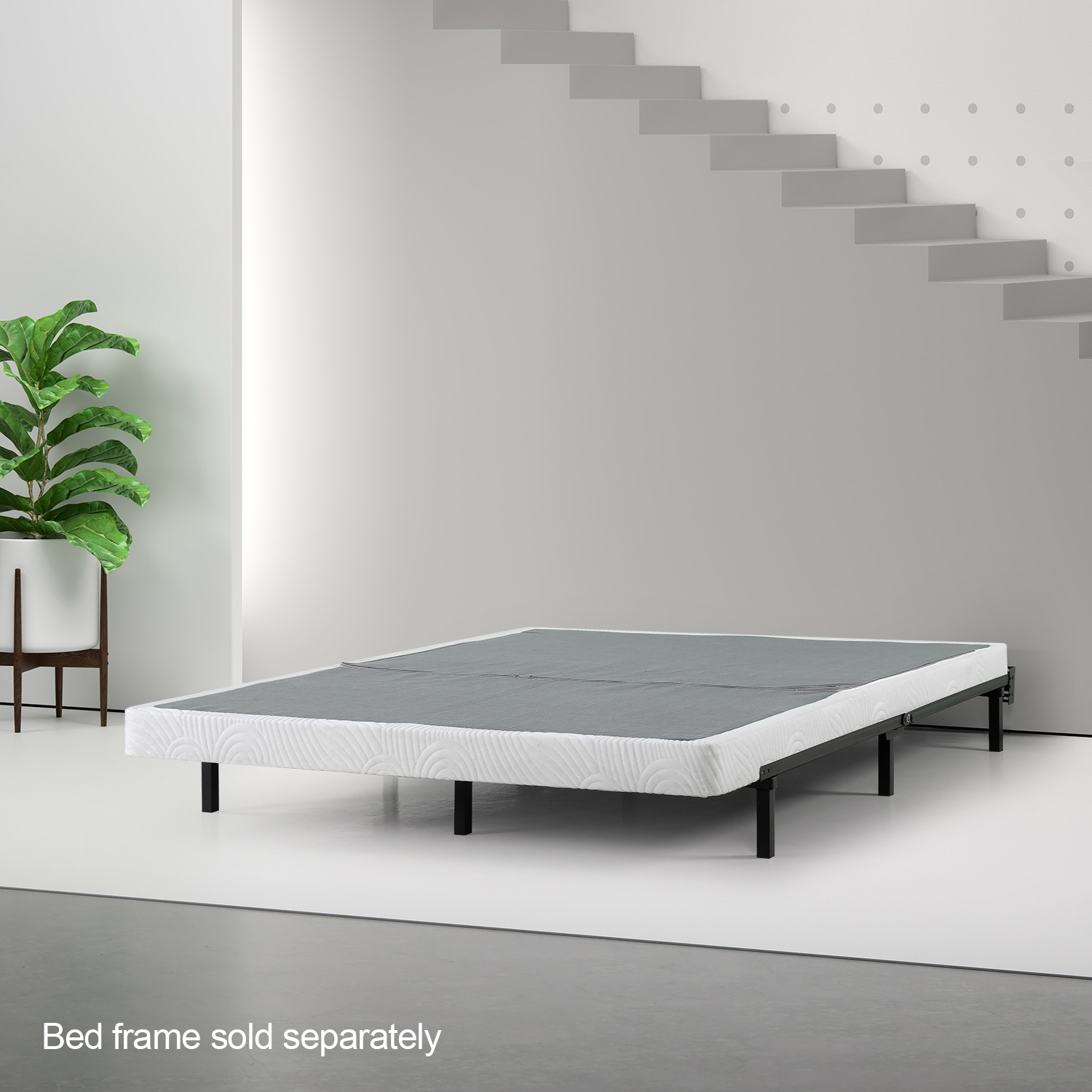 """Spa Sensations by Zinus 4"""" Low Profile BiFold Box Spring, Multiple Sizes"""