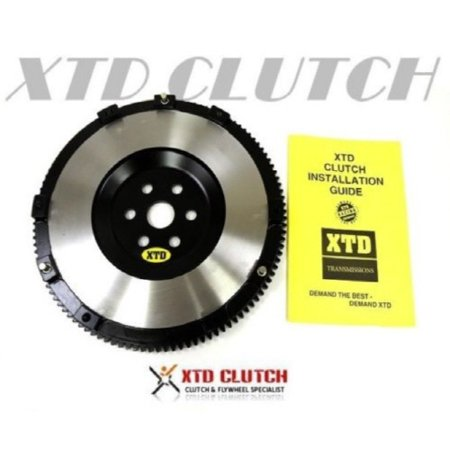 XTD CHROME MOLY 11.5LBS CLUTCH FLYWHEEL 2006-2012 MAZDA MX-5 MIATA ALL 5 & 6 - Chrome Flywheel