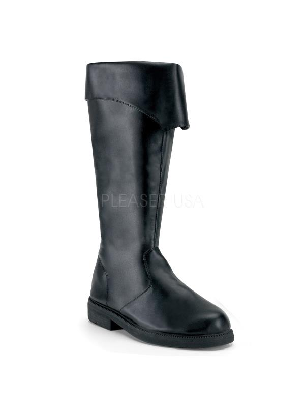 CAP105/B/PU Funtasma Men's Boots BLACK Size: S