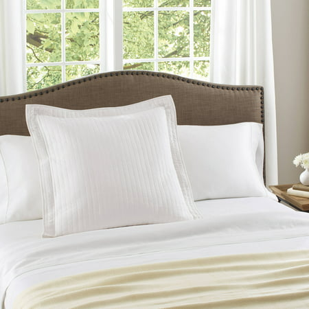 Better Homes & Gardens Cotton Arctic White Euro - Pintuck Euro Sham