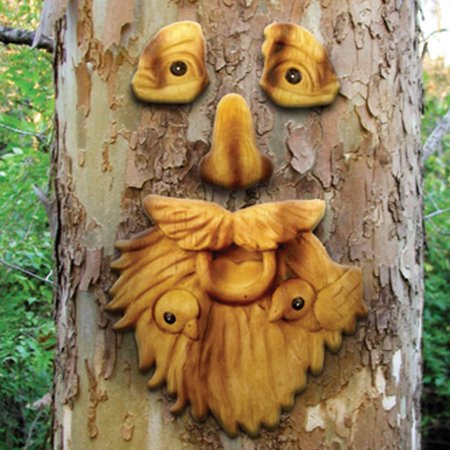 Red Carpet Studios LTD St. Francis Outdoor Tree Face (Set of 2)