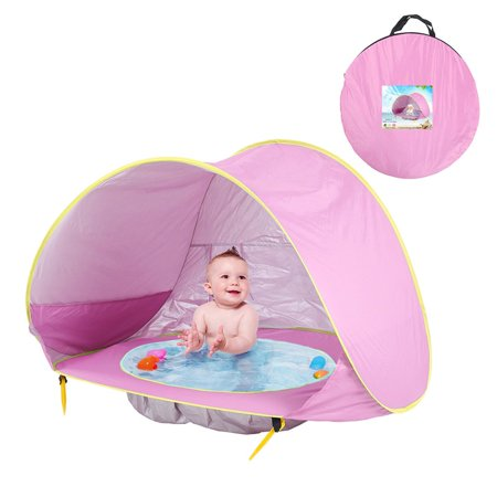 VENSE Children'S Tent Ocean Outdoor Sun Protection Pool Beach Castle Toy House - image 3 of 6