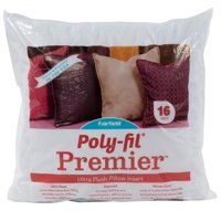 "Poly-Fil Premier Accent Pillow Insert 16"" x 16"""