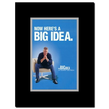 The Big Idea with Donny Deutsch Framed Movie Poster ()