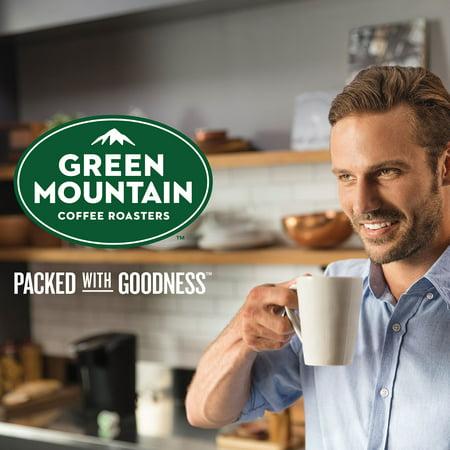 Green Mountain Coffee Half Caff, Keurig K-Cup Pod, Medium Roast, 18ct