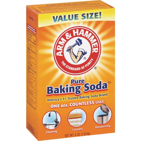 (4 Pack) Arm & Hammer Pure Baking Soda, 4 lb ()