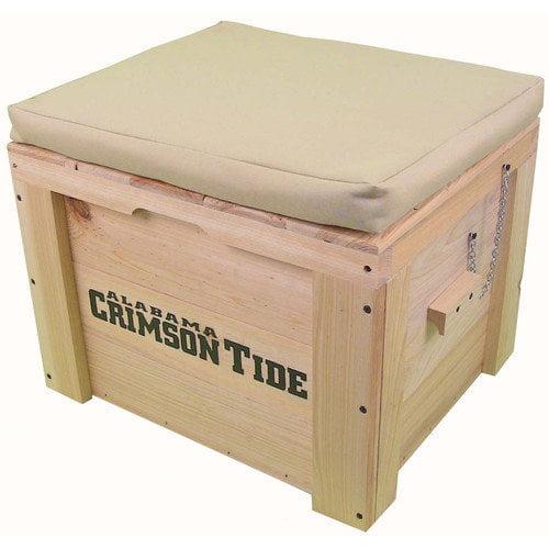 LoBoy Coolers 6.75 Gallion Wood School Deck Box
