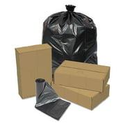 Pitt Plastics PITEC294412K Linear Low Density Repro Can Liners, 23gal, 1.2 Mil, 29 X 44, Black, 150/ct