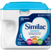 Similac Advance Infant Formula with Iron Powder, Stage 1, 1.45 lb