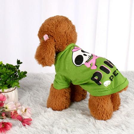 Dog T Shirt Puppy Pet Cat Sweatshirt Tops Apparel Vest Costume, #14, S - image 5 de 7