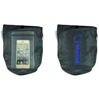 Mustad MB009 Dry Bag 2-3 L With Phone Pouch Dark Grey/Blue 500D Tarpaulin