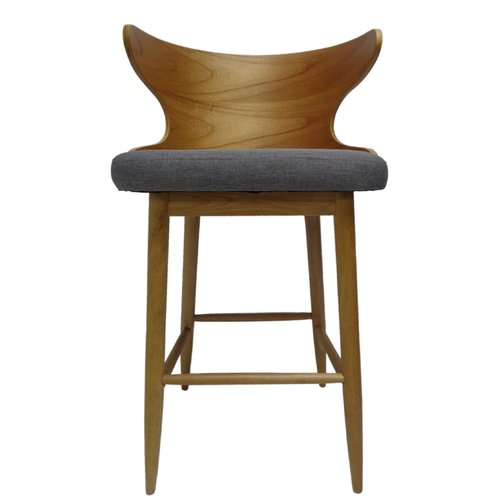 George Oliver Overturf Mid Century Modern 30 Bar Stool Set Of 2