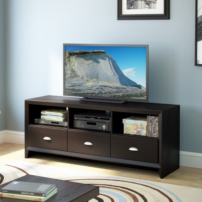 "CorLiving Kansas 59"" TV Stand in Espresso - image 1 de 4"