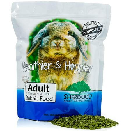 Rabbit Food, Sherwood Pet Health, Adult, Timothy blend (Grain & Soy-Free) (Vet Used) 4.5# - Rabbit's Foot For Sale