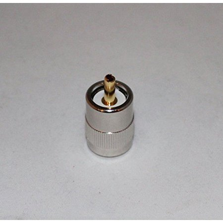Uhf Male Solder (UHF PL259 Male Solder on RF Connector Plugs for RG8 coax cable; US Stock)