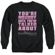 Gossip Girl You'Re Nobody Mens Crewneck Sweatshirt