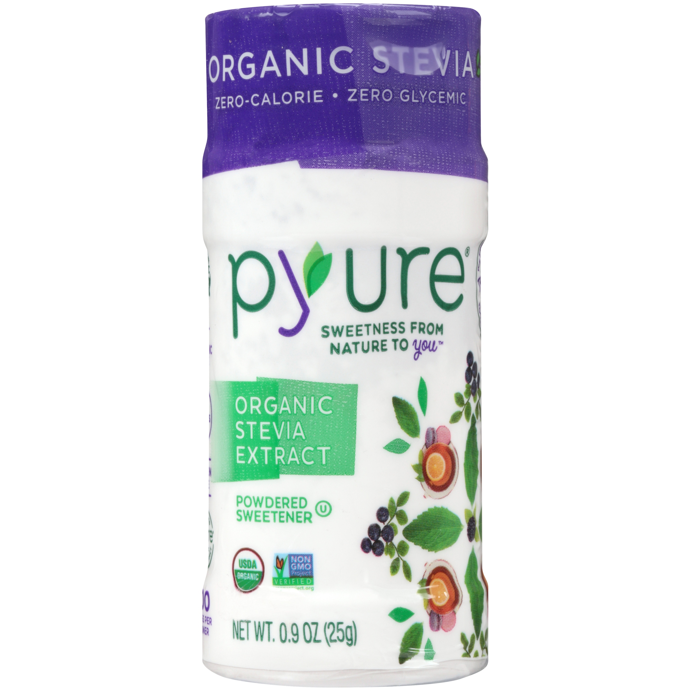 Pyure Extract Stevia Org,0.09Oz (Pack Of 6)