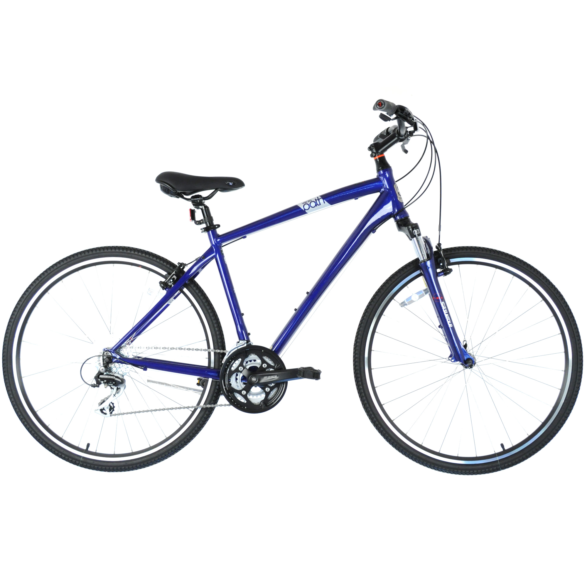 "2016 FELT Verza Path 20 Upright Hybrid Fitness Bike 3x8-Speed // Blue // 20"""