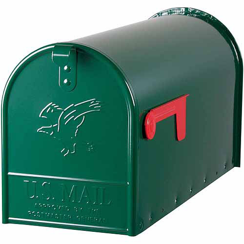 Solar Group Inc E16G Large Green Rural Size Mailbox