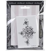 LaBlanche Silicone Stamp, 2.5 by 4-Inch, Stately Swirl Multi-Colored