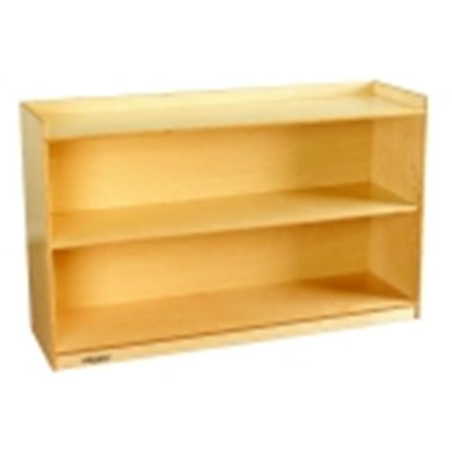Childcraft 30 in. Adjustable Mobile Bookcase With Lip by Childcraft