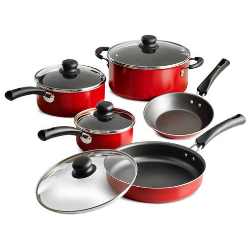 Tramontina 9-Piece Simple Cooking Nonstick Cookware Set