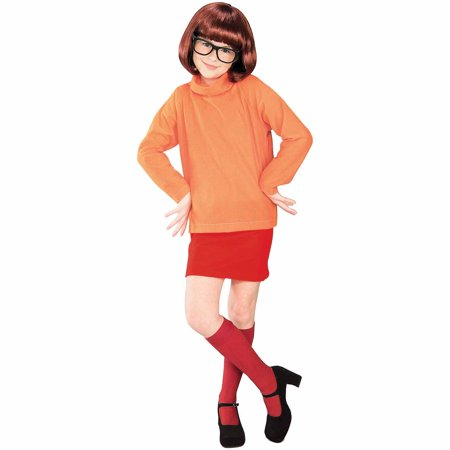 Scooby Doo Velma Child Halloween Costume - Domo Costume For Kids