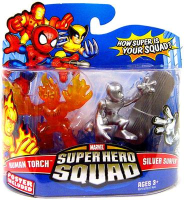 Human Torch & Silver Surfer Action Figure 2-Pack Marvel