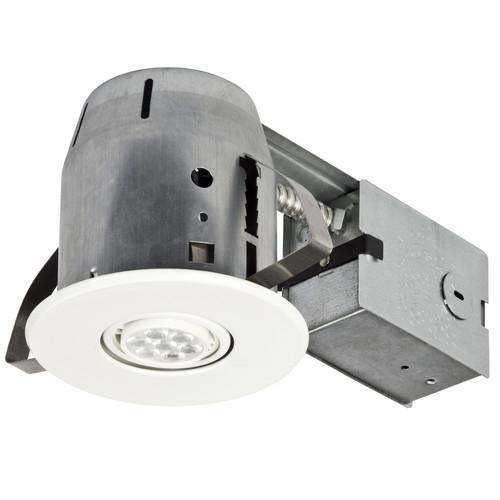 Globe Electric Company LED IC Rated Swivel Spotlight 4'' Recessed Kit Set of 4 (Set of 4)