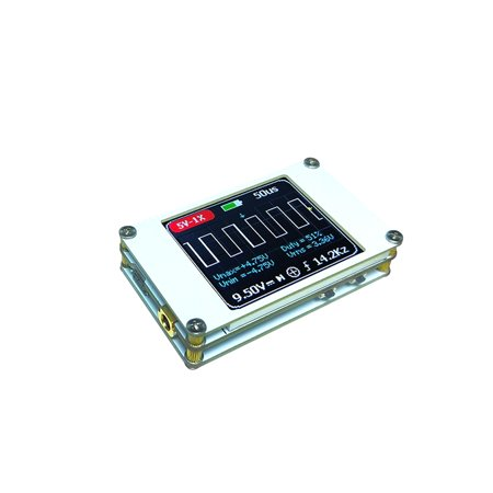 Mini Digital Display Handheld Ultralight Oscilloscope of 1MHz Bandwidth 5MS/s Sample Rate Oscilloscopes Kit With Built-in Lithium Battery