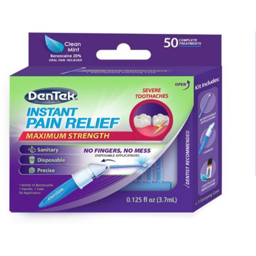DenTek Adult Instant Pain Relief Kit,  50 ea (Pack of 3)