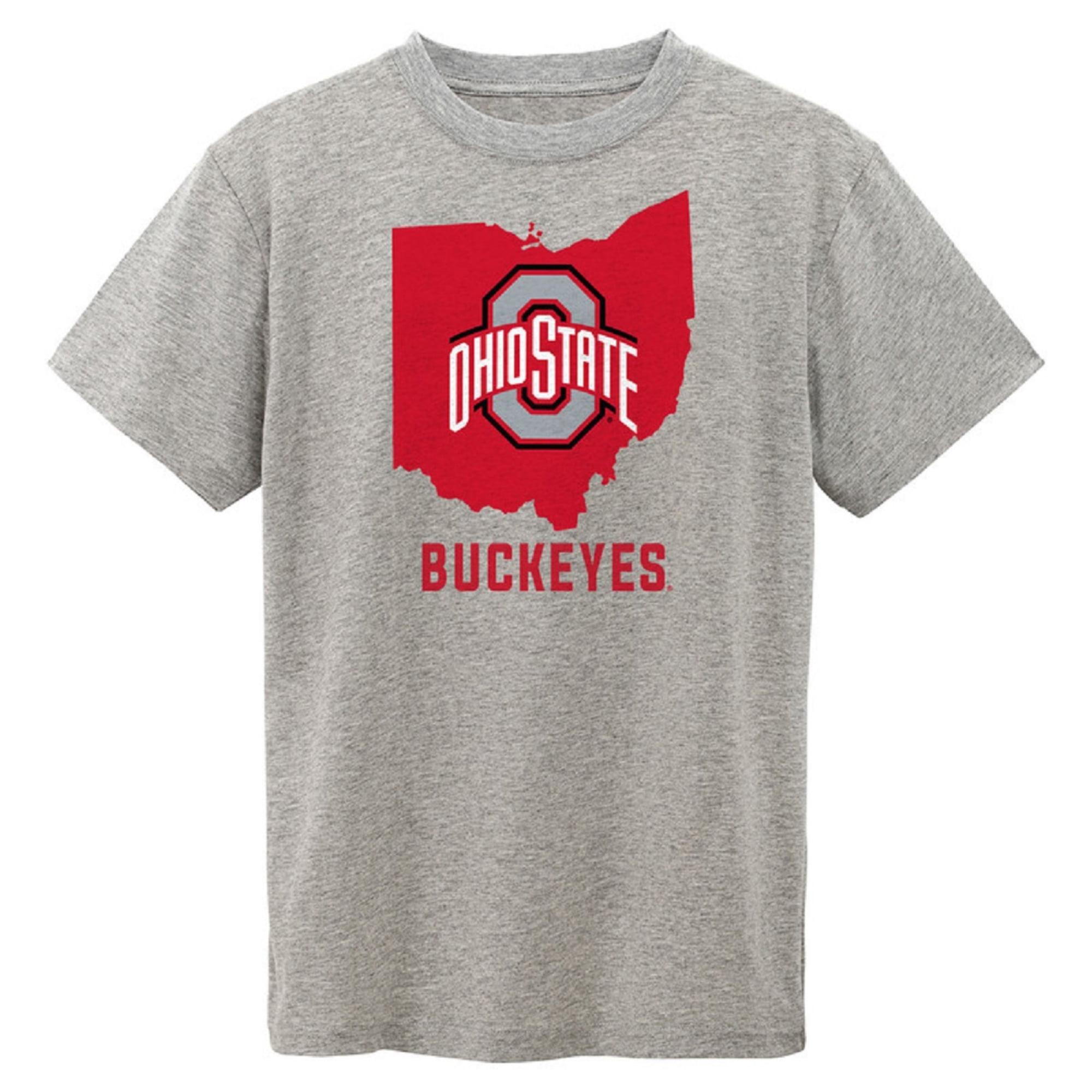 Newborn & Infant Gray Ohio State Buckeyes State T-Shirt