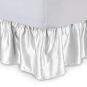 Harmony Lane Satin Ruffled Bed Skirt