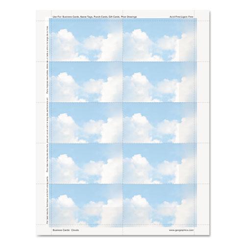 Clouds Design Business Suite Cards GEO47372S