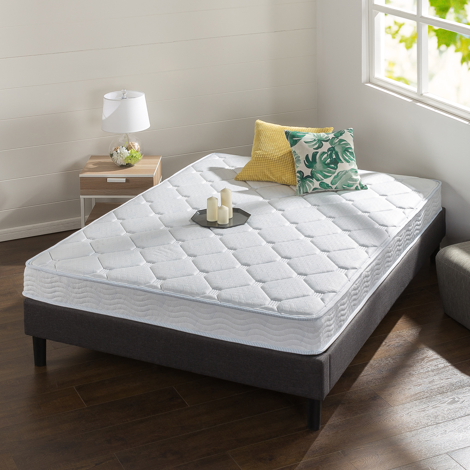 Spa Sensations 6 Inch Spring and Gel Memory Foam Mattress by Zinus