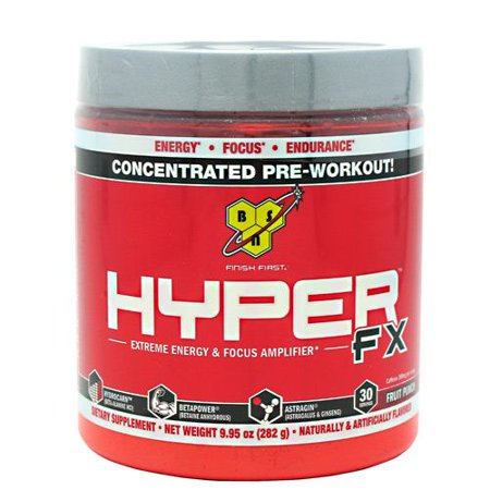 BSN HYPER FX - Fruit Punch, 9,63 oz (30 Portions)