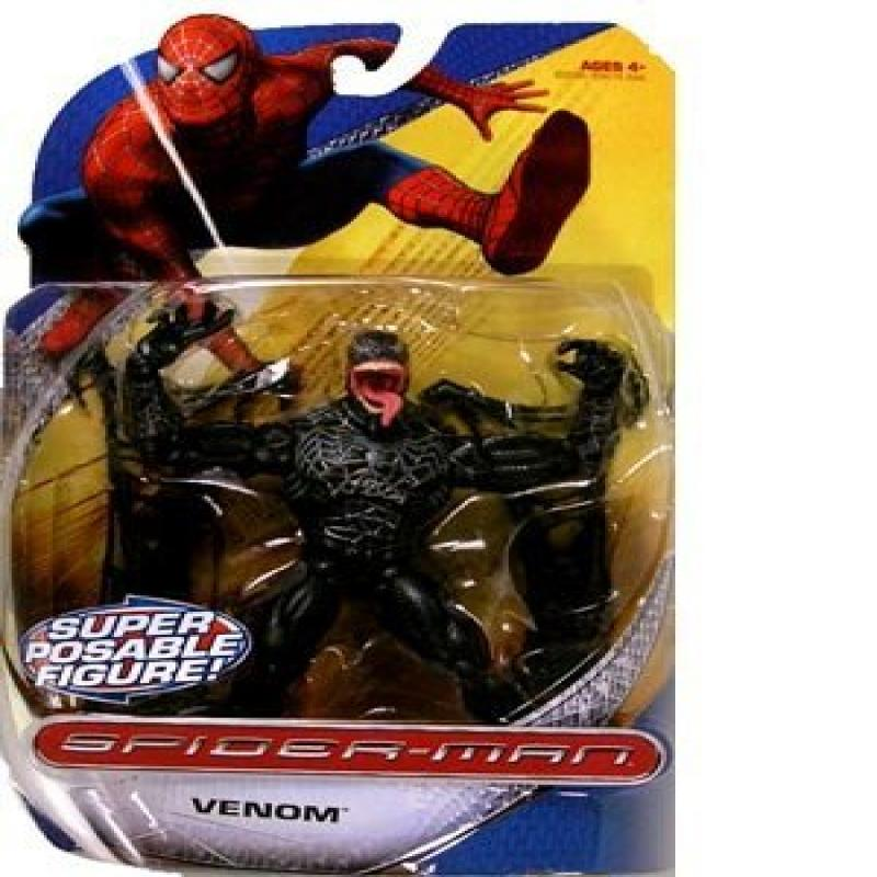 Spider-Man Trilogy Action Figures Villains Wave Venom by